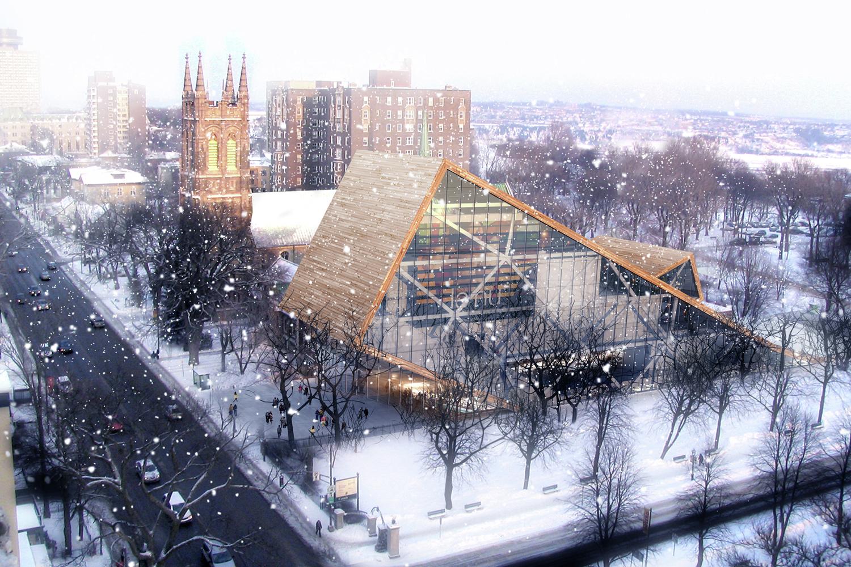 Gallery of mus e national des beaux arts du qu bec for Architecture quebec