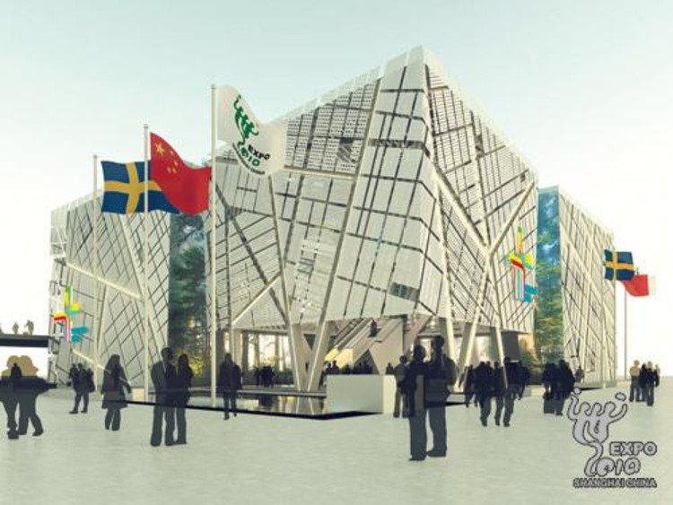 Sweden pavilion for shanghai world expo 2010 archdaily for Expo 2010 pavilions