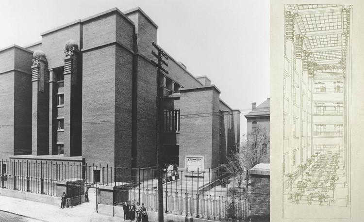 Edificio de oficinas Larkin Company (demolido) Búfalo, Nueva York, 1902-1906