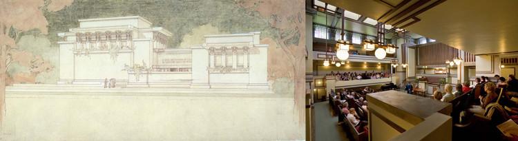 Templo Unitario Oak Park, Illinois, 1905–08