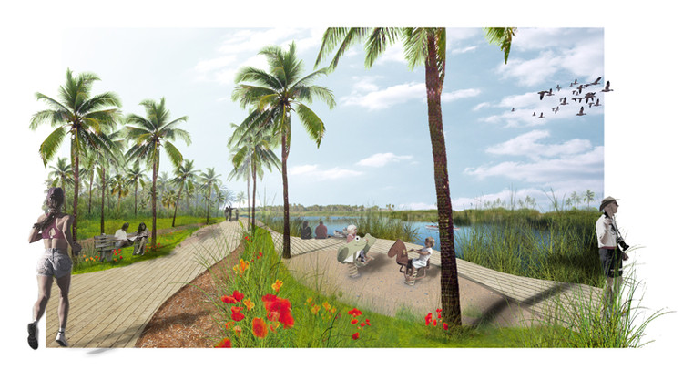 Parque bicentenario estero 2010 fabrik b archdaily for Fabrik landscape architects