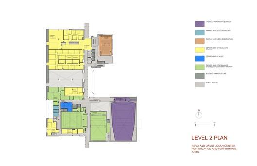 Level 2 plan © Tod Williams Billie Tsien