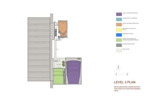 Level 3 plan © Tod Williams Billie Tsien