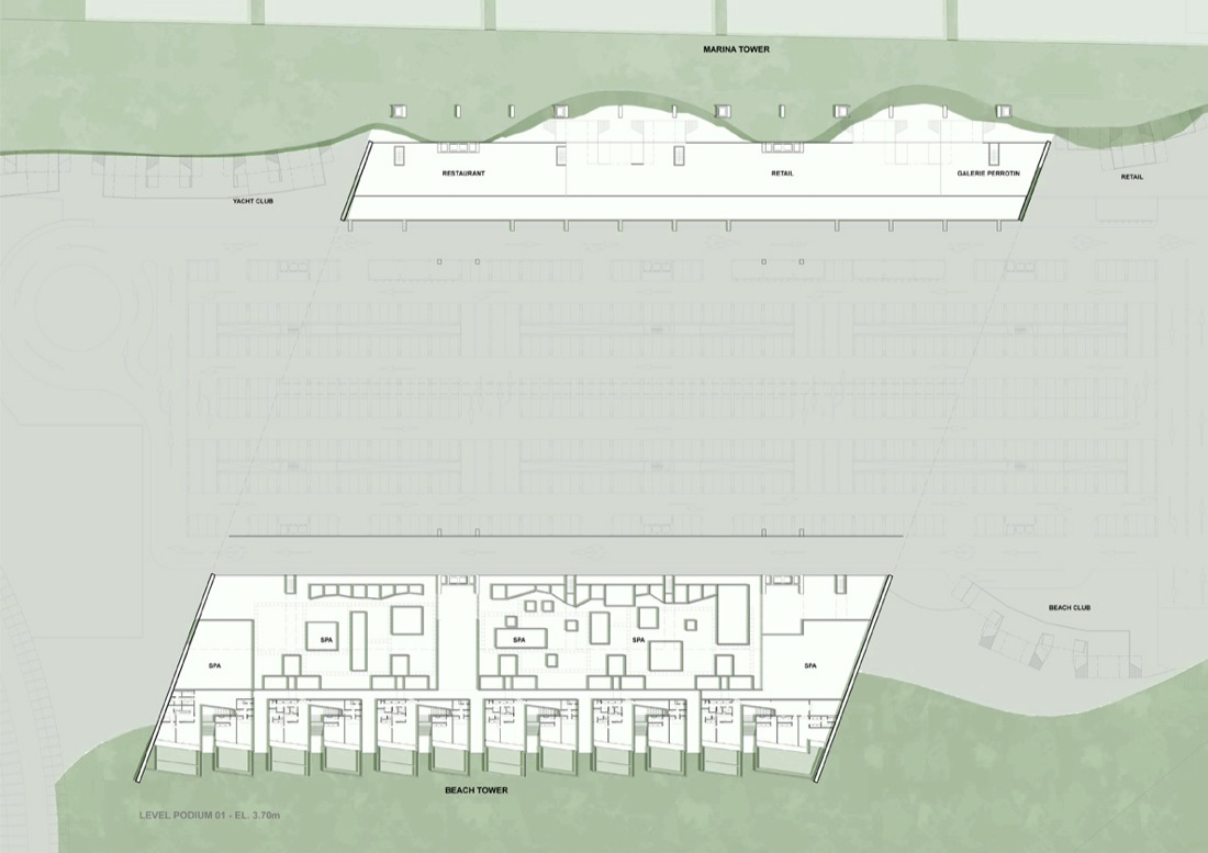 gallery of marina beach towers oppenheim architecture design 6