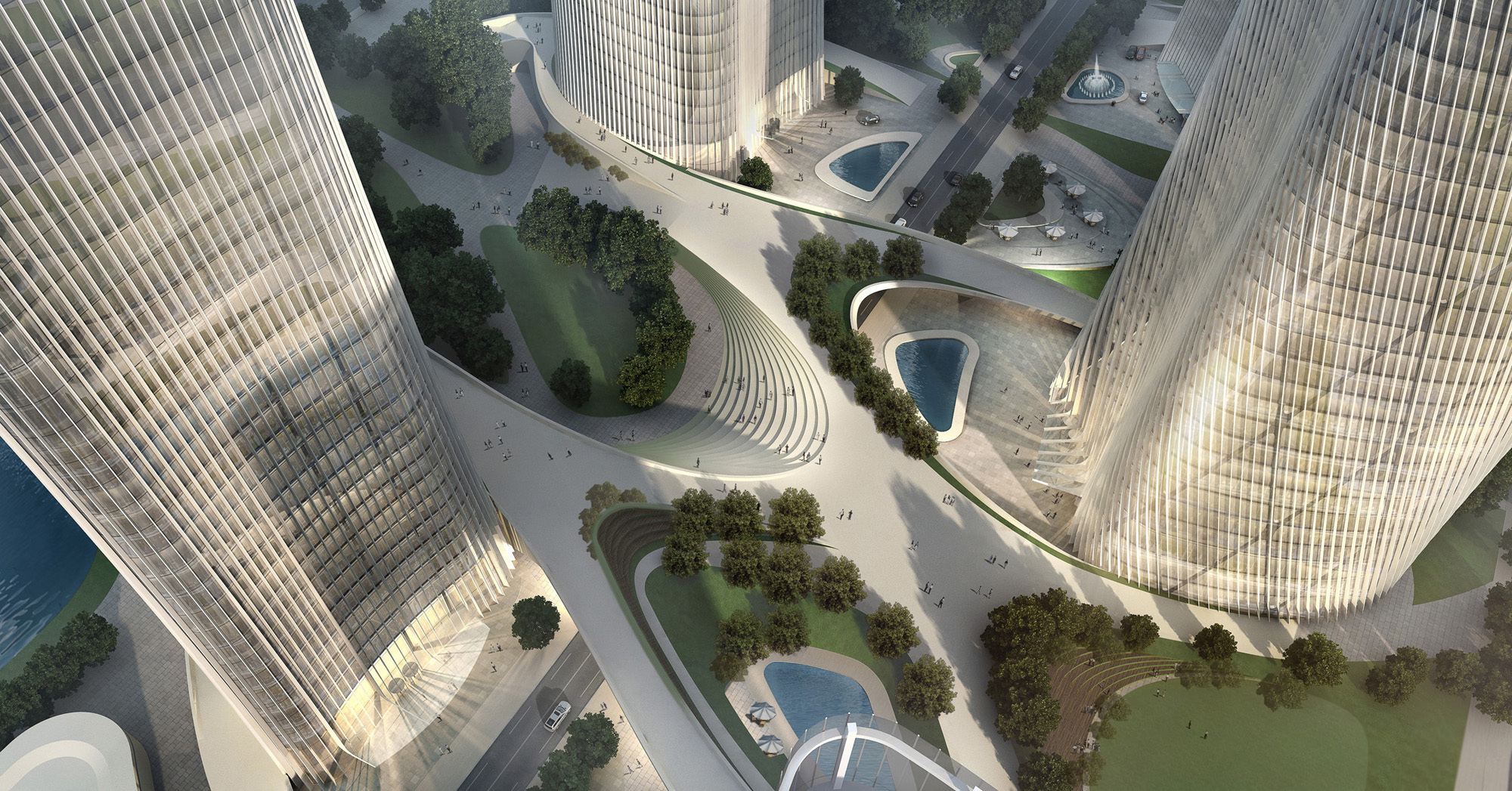 Central Business District Wenzhou / HENN ARCHITEKTEN+HENN ...