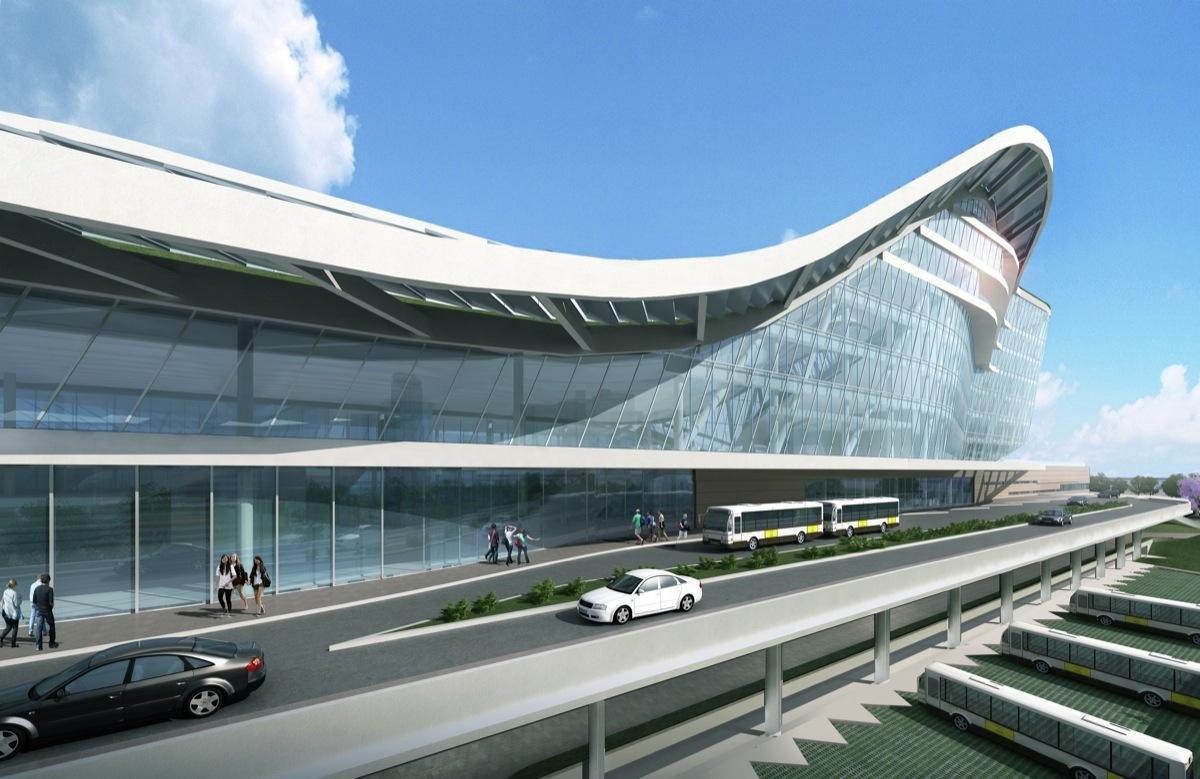 Marine Port Service Building Design