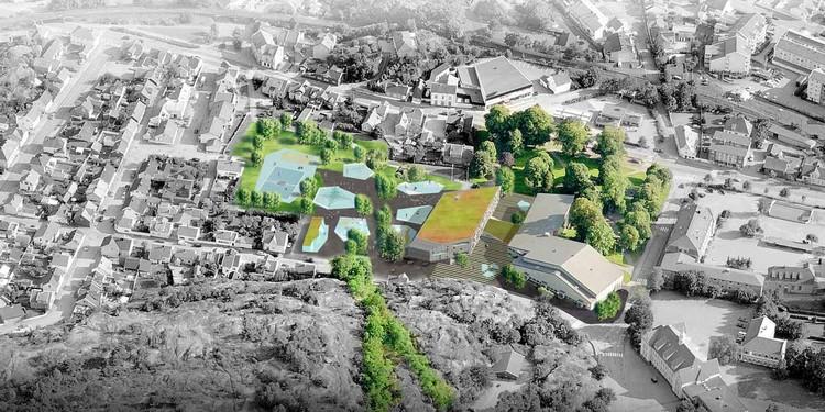 aerial view : © Cebra / Various Architects / Østengen & Bergo