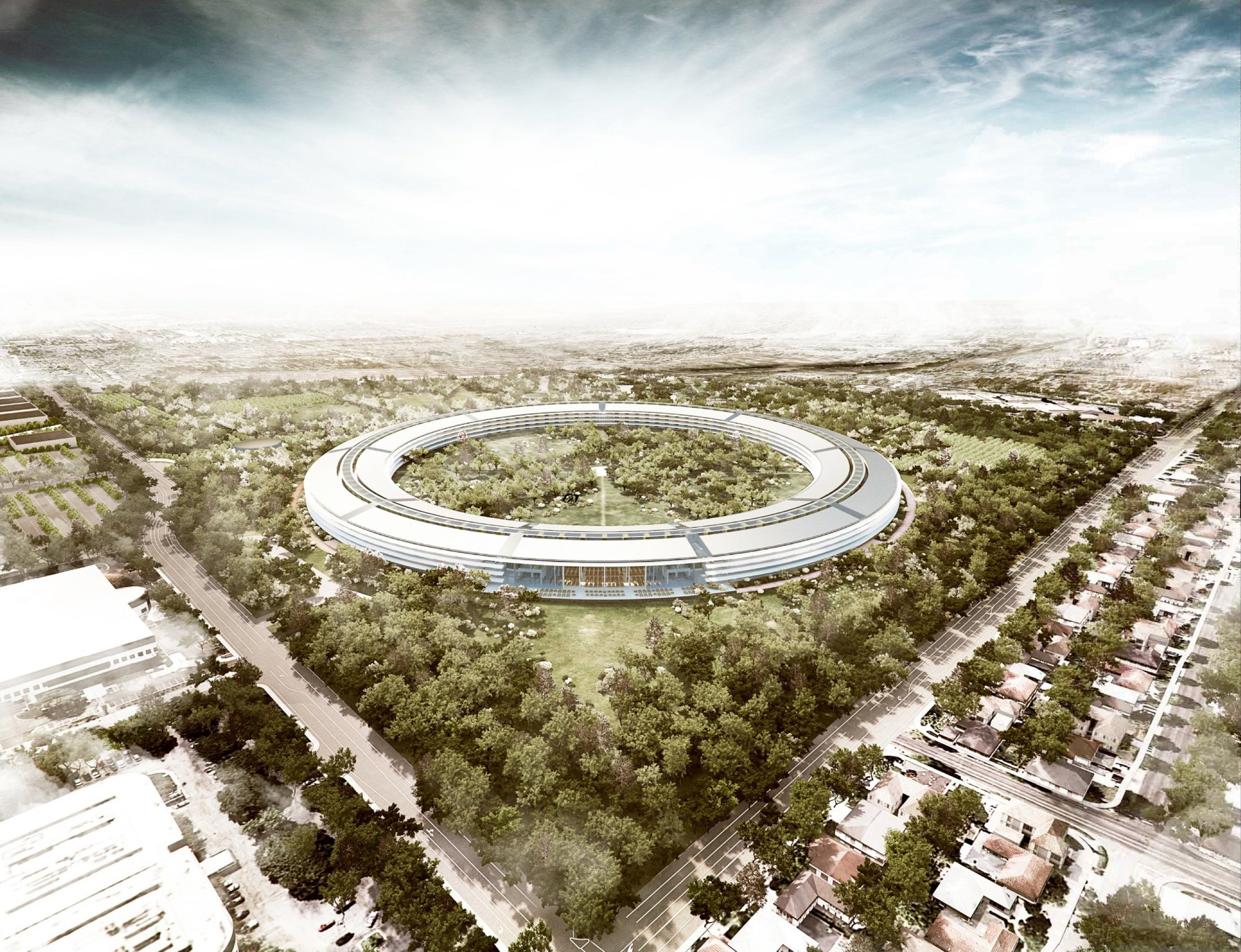 foster partners arup kier wright apple cupertino office