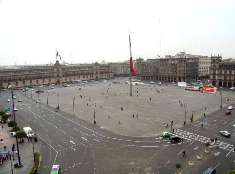empty plaza