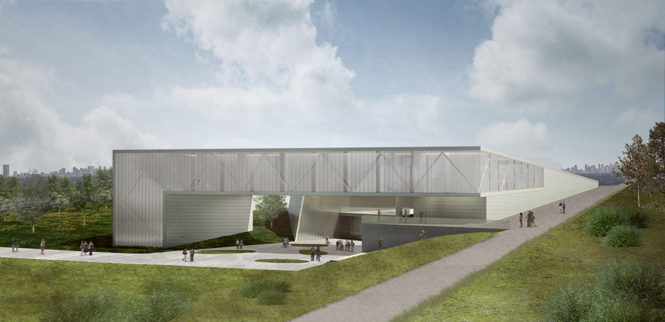 Gallery of museum and archive jabotinsky center for Architect ltd