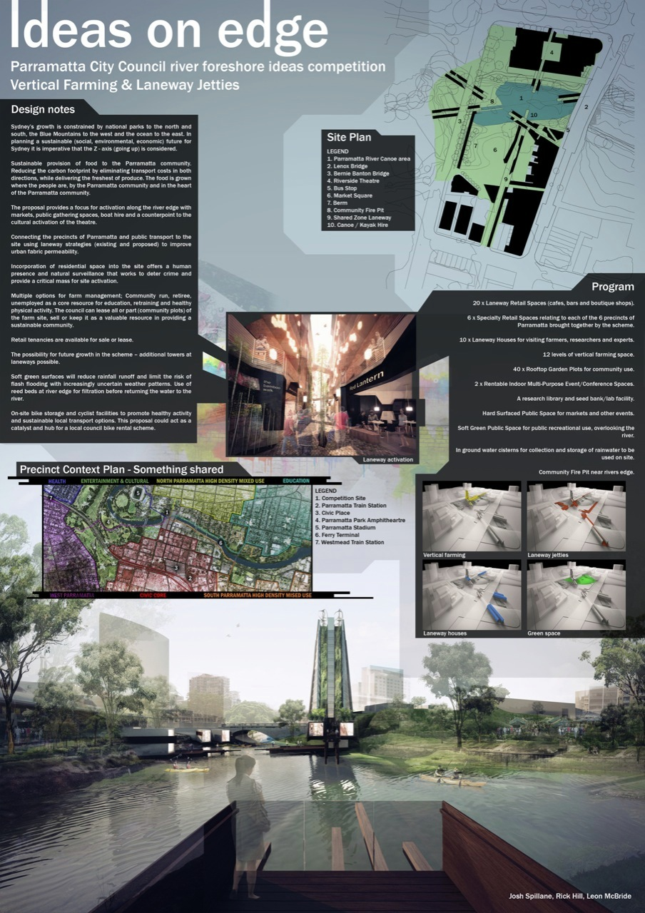 Gallery Of The Ideas On Edge Competition University Of