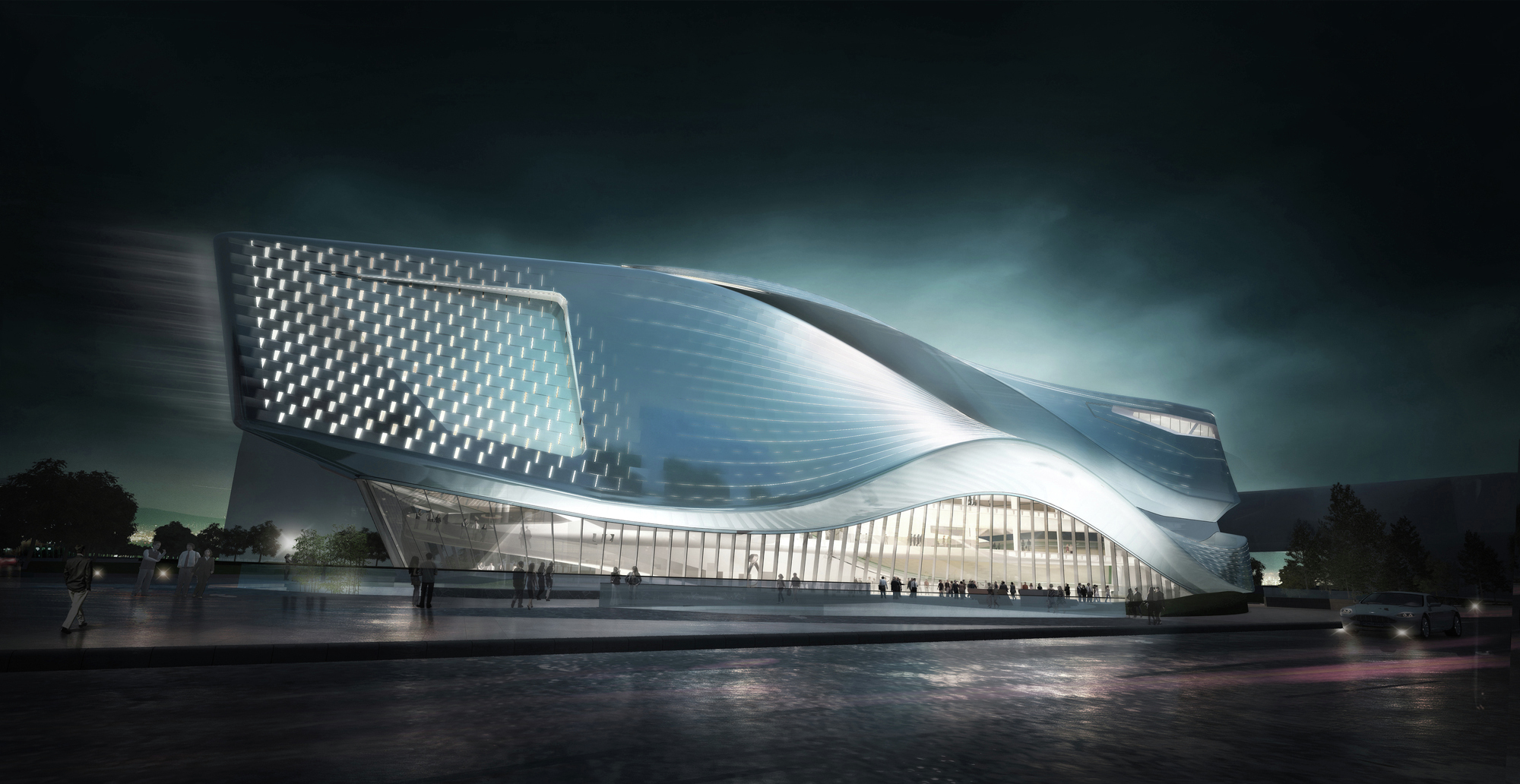 Dalian planning museum 10 design archdaily for Contemporary architecture design concept