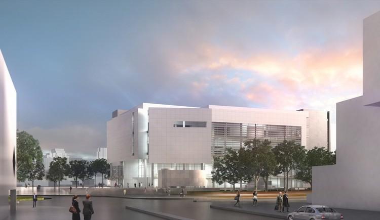 Courtesy of Richard Meier & Partners Architects