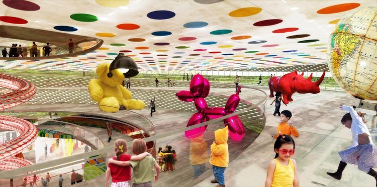 childrens exhibit view