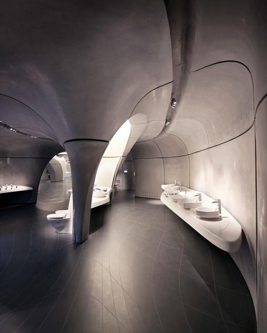 ROCA London Gallery / Zaha Hadid Architects Courtesy of ROCA
