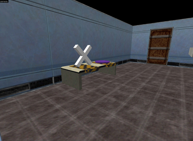 Screenshot of simulation Courtesy of Gabriel Radvansky