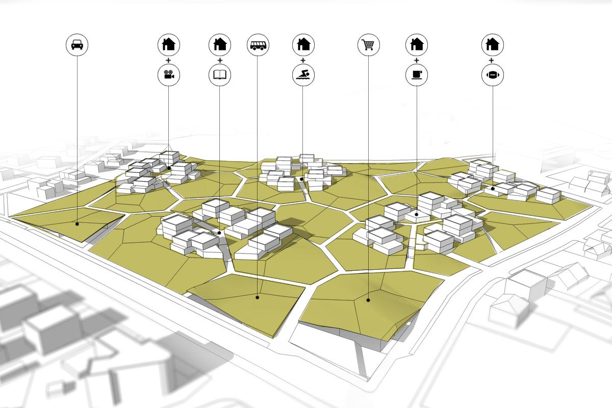 Gallery of housing estate proposal mikolai adamus igor for Concept of housing in architecture