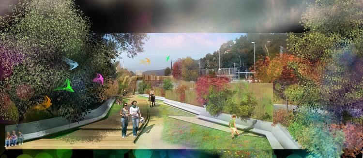 General Boulevard ./ Courtesy of Nabito Architects + ACTAR