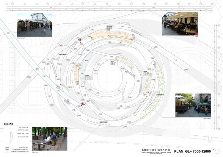 Plan © Sou Fujimoto Architects