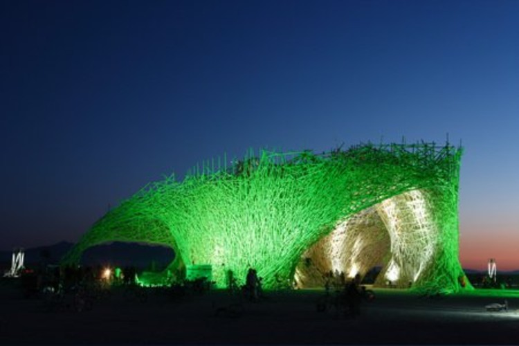 Arquitectura ef mera arne quinze en el burning man for Que es arte arquitectura