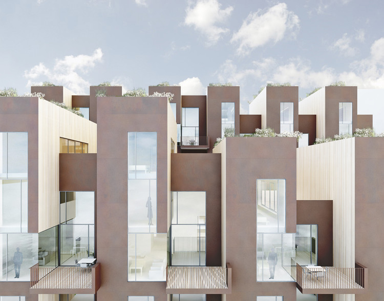Sustainable Town House,Courtesy of C.F. Møller Architects