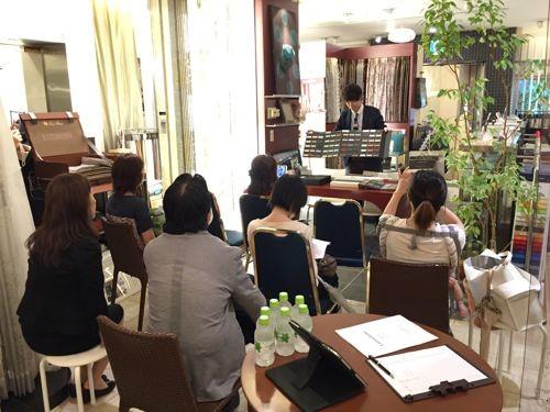 Seminar held in Grand Decor, Nagoya, Japan