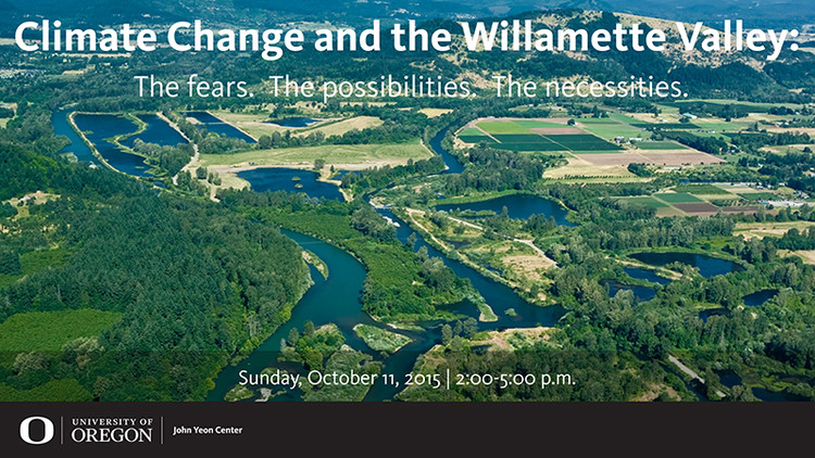 Panel Discussion: Climate Change and the Willamette Valley