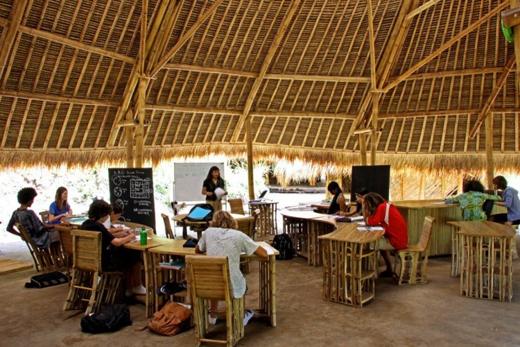 The Green School / PT Bambu © PT Bambu
