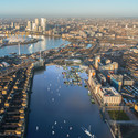 Floatopolis by dRMM. Image Courtesy of New London Architecture