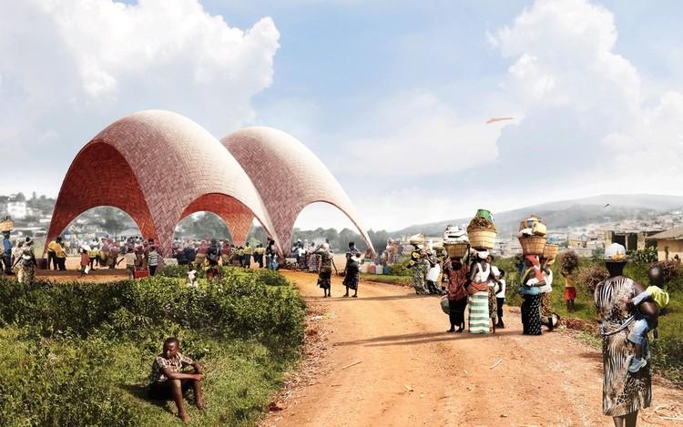 Foster + Partners presenta diseño para 'droneport' en Ruanda, Cortesía de Foster + Partners