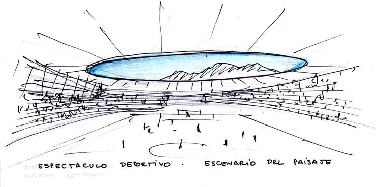 Croquis 2 © Valle & Cornejo Arquitectos + L2C