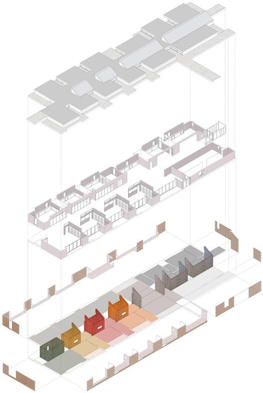 Axonométrica © studiomas architetti associati