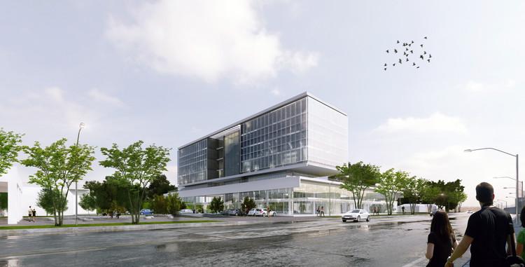1.61 Arquitectos + Jorge Taberna, primer lugar en concurso de la nueva sede del Ministerio de Salud GCABA, Segunda Etapa. Image Cortesía de Equipo Primer Lugar