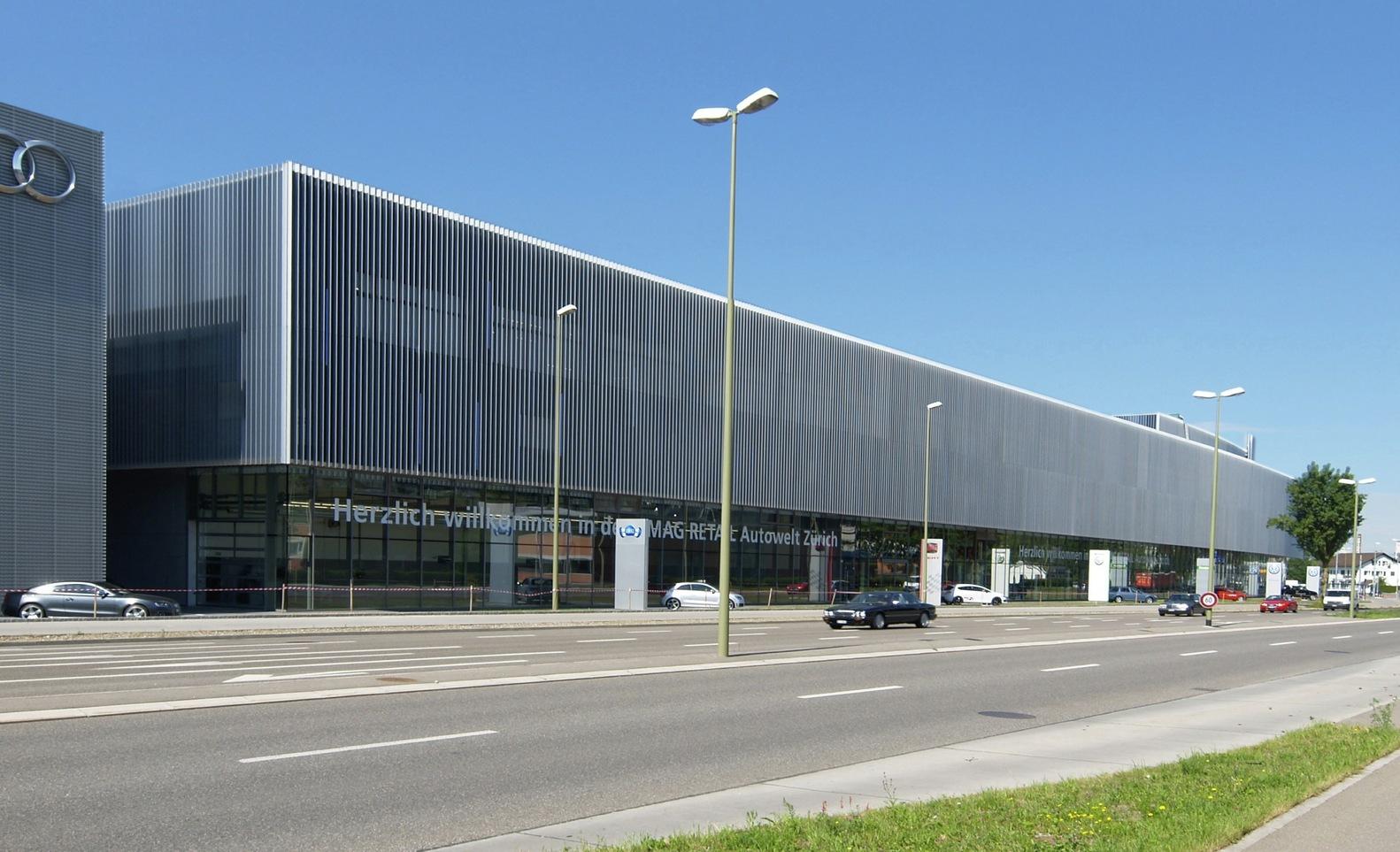 Gallery of amag autowelt zurich fischer architekten 1 - Fischer architekten ...