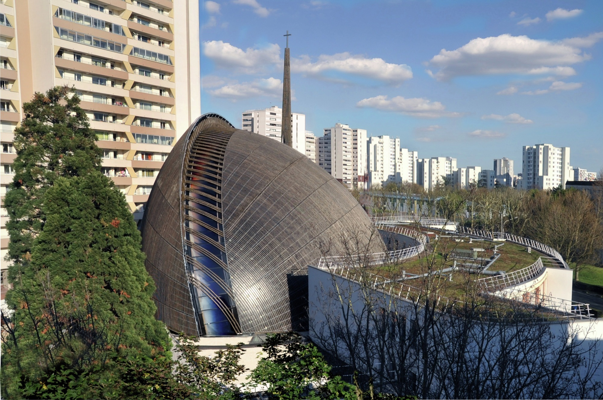 Cathedral of cr teil extension architecture studio for Extension architecte