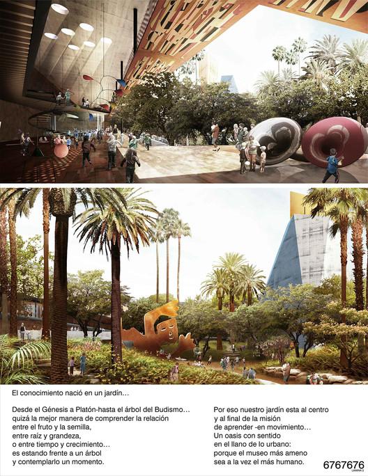 Propuesta de TAX Taller de Arquitectura, Alberto Kalach y Taller Juan Palomar Arquitectos