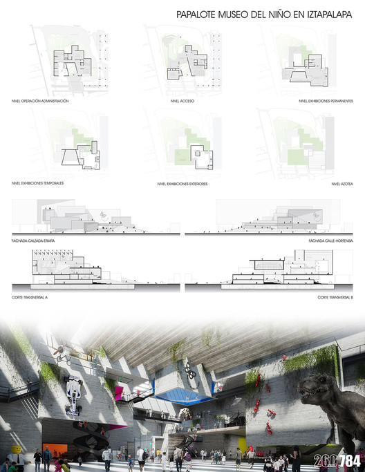 Propuesta de CRAFT Arquitectos