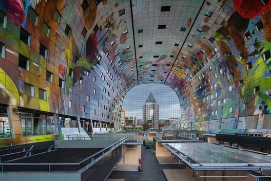 Rotterdam Markthal / MVRDV. Image © Daria Scagliola+Stijn Brakkee