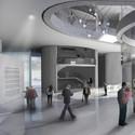 Hall de acceso. Image Cortesía de Célula Arquitectura