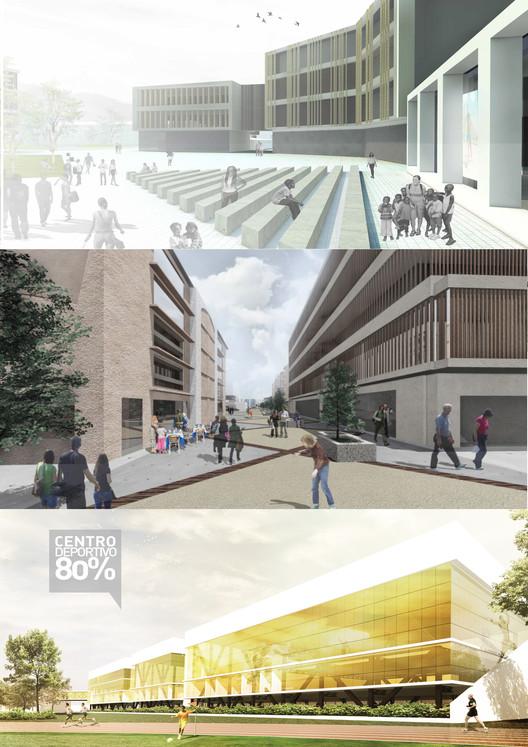 Regeneración urbana en Curundú: propuestas finalistas del BID Urban Lab 2015, Collage por Fabio Rodríguez