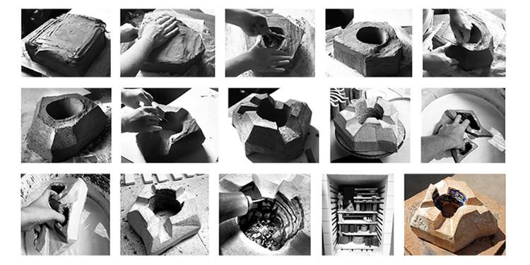 Proceso volumétrico. Image Cortesía de Bakpak Architects