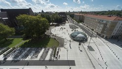 St Johannesplan & The Konsthall Square / White