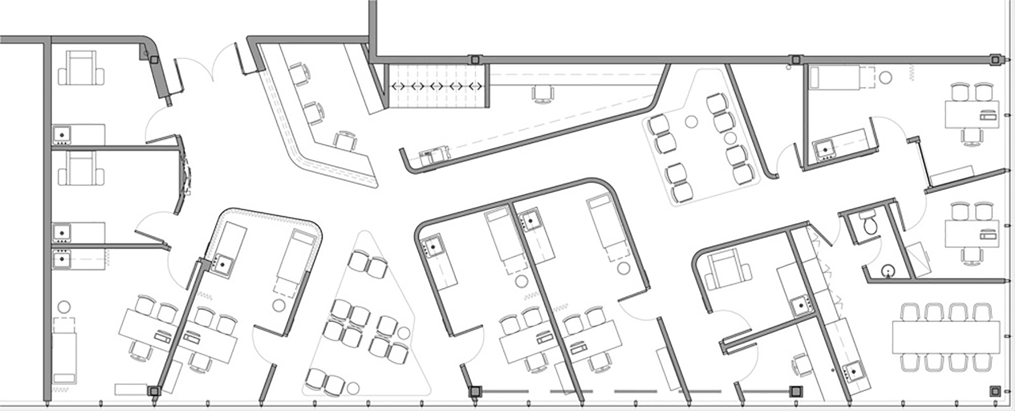 Gallery of uniprix pharmacy and medical center jean de Pharmacy floor plans