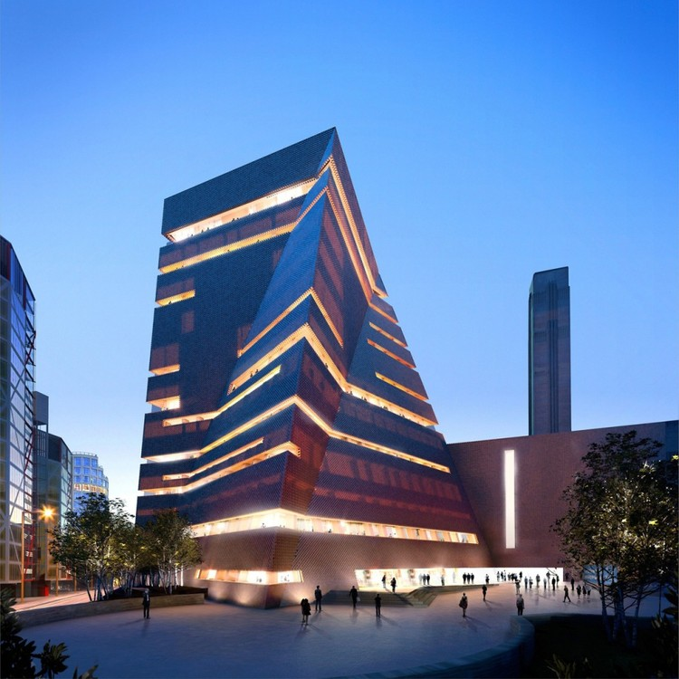 Herzog & de Meuron's Tate Modern Expansion to Officially Open in 2016, The new expansion to the Tate Modern. Image © Hayes Davidson and Herzog & de Meuron