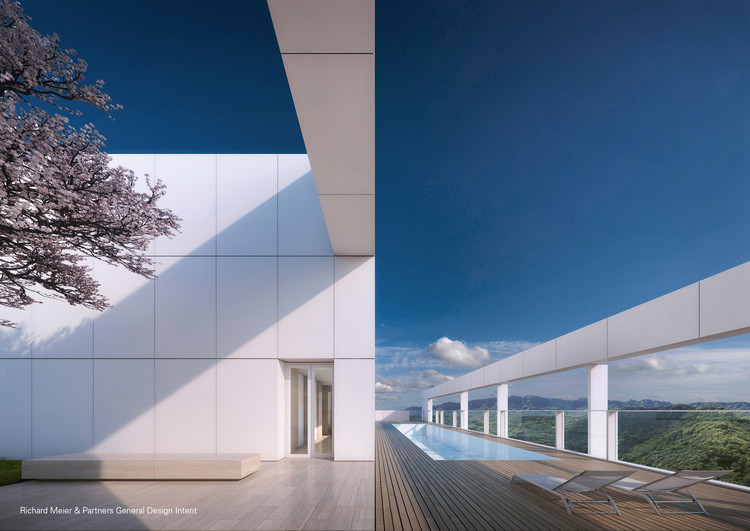 © Vize.com; Courtesy Richard Meier & Partners Architects