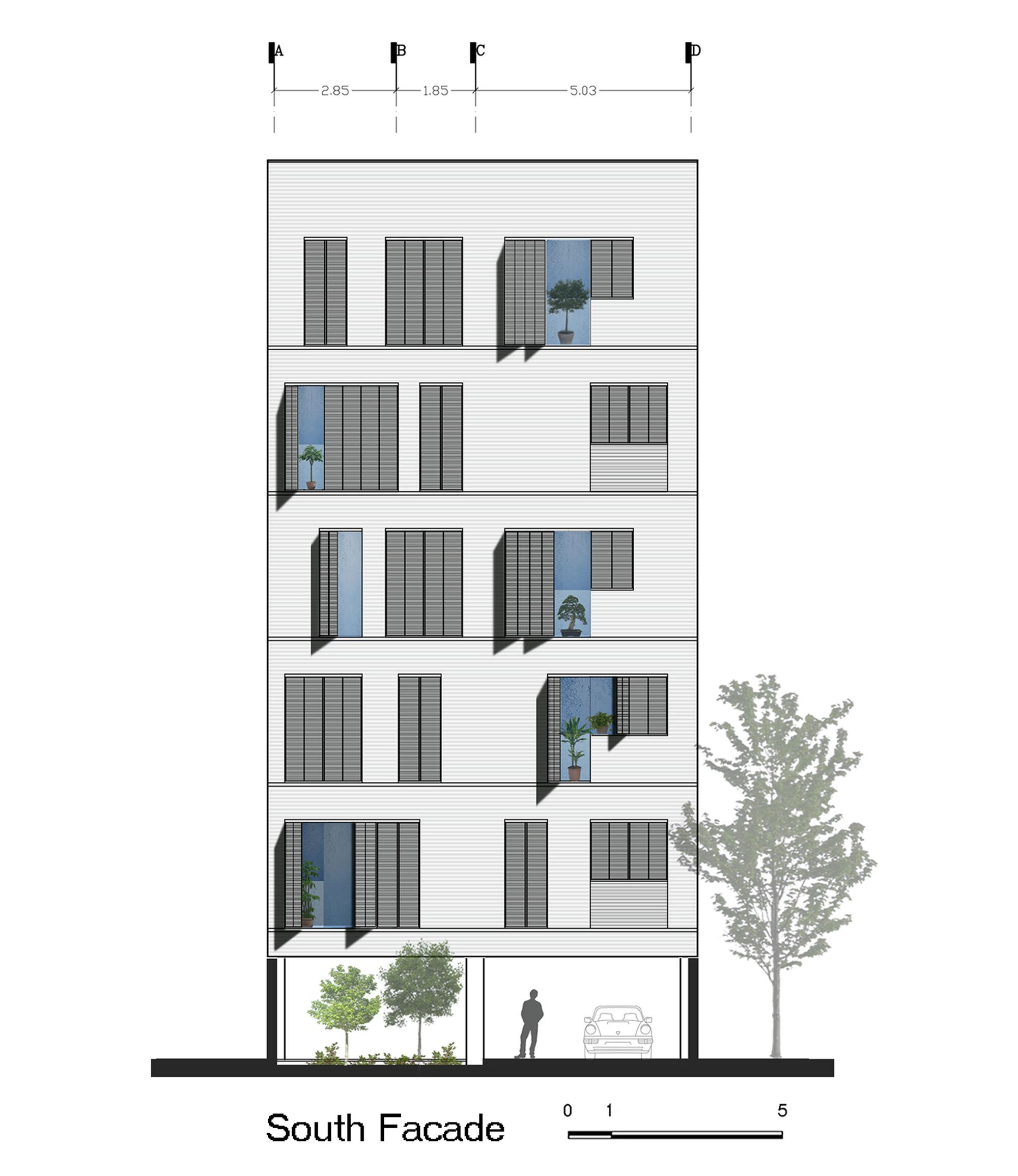 Gallery Of Andarzgoo Residential Building Ayeneh Office 18