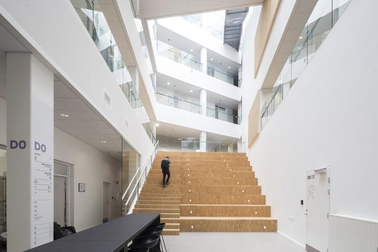 Universidad VIA en la ciudad de Aarhus / Arkitema Architects, © Niels Nygaard