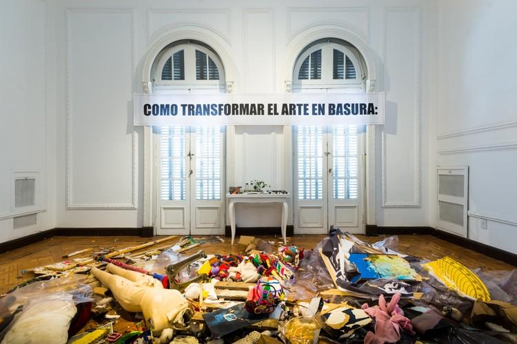 CHATARRA: Intervención con materiales reciclados en el Museo Dionisi de Córdoba, © Gonzalo Viramonte