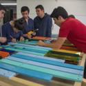 Proceso de construcción Pabellón Neptuno / 2014.02. Image Cortesía de Carolina M. Rodriguez Bernal