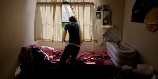 Centro de recepção para pessoas que buscam asilo em Oslo, 'Moments of Freedom', Javad Parsa (2013). Cortesia do autor
